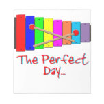 Perfect Day Xylophone Memo Pad