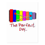 Perfect Day Xylophone Post Cards