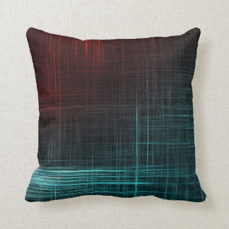 Perfect Digital Scratch Lines - Patterned Pillow
