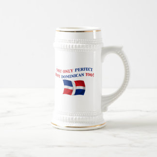 Perfect Dominican Beer Stein