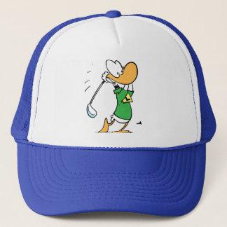 Perfect Drive Ding Duck Golf Cap