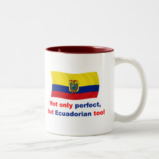 Perfect Ecuadorian Two-Tone Coffee Mug