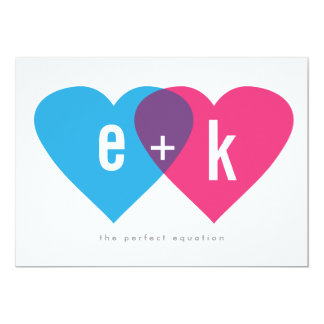 Perfect Equation Save the Date Card