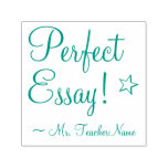 """[ Thumbnail: """"Perfect Essay!"""" + Instructor's Name Rubber Stamp ]"""