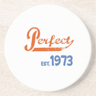Perfect Est. 1973 Drink Coaster
