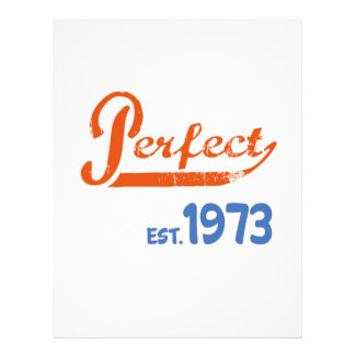 Perfect Est. 1973 Letterhead