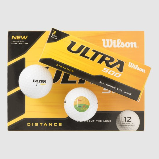 Perfect Fathers Day Gift for the Golfer Dad Golf Balls