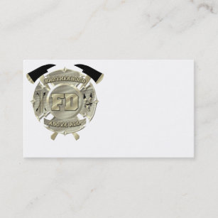 Firefighter Business Cards 400 Firefighter Business Card Templates