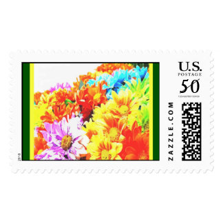 Perfect Flowers Postage Stamps