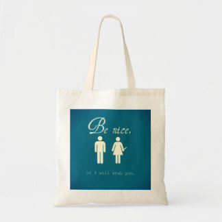 Perfect for books or knives or whatever. budget tote bag