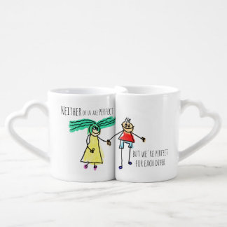 Perfect For Each Other Couples Coffee Mug