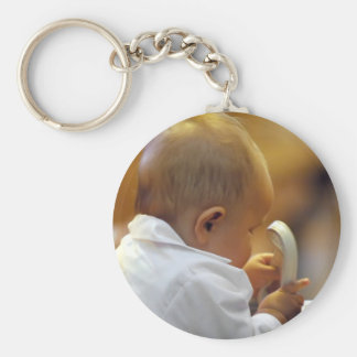 Perfect for special occasions such Baptisms Keychain