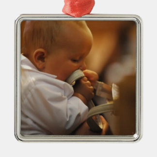 Perfect for special occasions such Baptisms Metal Ornament