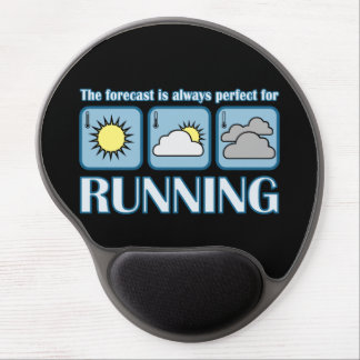 Perfect Forecast for Running Gel Mouse Pad