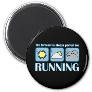Perfect Forecast for Running Magnet