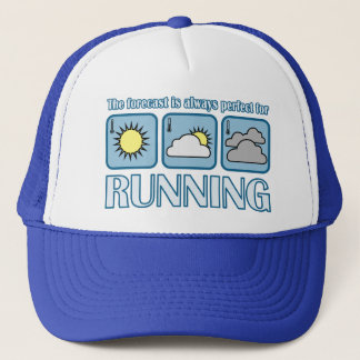 Perfect Forecast for Running Trucker Hat