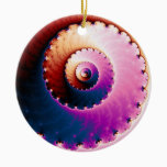 Perfect - Fractal Art Ceramic Ornament