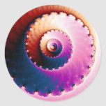 Perfect - Fractal Art Classic Round Sticker