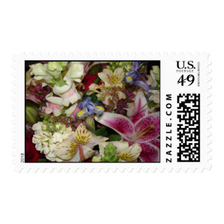 Perfect Fresh Flowers Postage Stamp