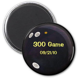 Perfect Game Score 2 Inch Round Magnet