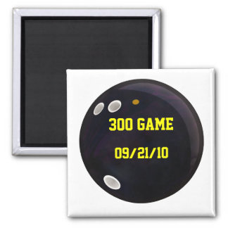 Perfect Game Score 2 Inch Square Magnet