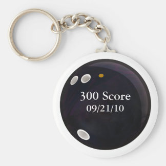 Perfect Game Score Key Chain