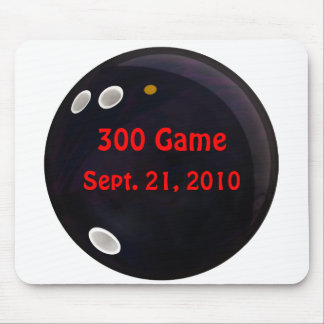 Perfect Game Score Mouse Pad