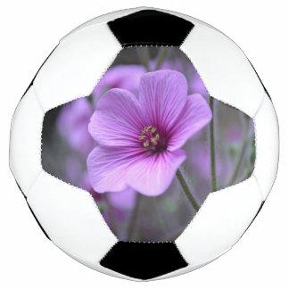 Perfect Geranium Soccer Ball