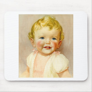 perfect gift for a baby girl birth! mouse pad