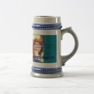 Perfect gift for a muslim groom! beer stein