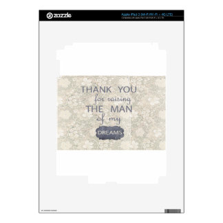 Perfect Gift for Mother in Law iPad 3 Decals