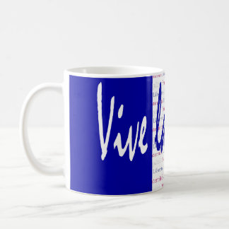 Perfect Gift for People Who Love France Tricolore Coffee Mug