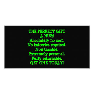 Perfect Gift is a Hug Card