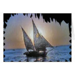 Perfect Gift:  Sail Voyage Trip Cards