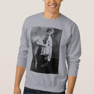 Perfect Girl Vintage Glamour Photo 1909 Sweatshirt