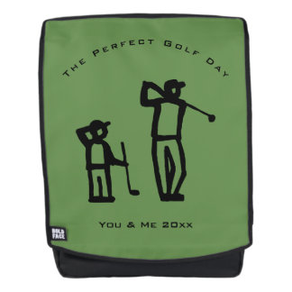 Perfect Golf Day Backpack