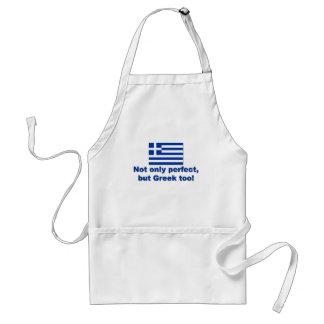 Perfect Greek Adult Apron