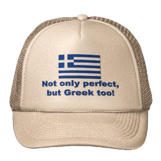 Perfect Greek Trucker Hat