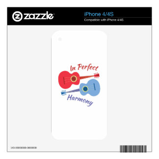Perfect Harmony Decals For The iPhone 4S