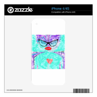 Perfect heart skins for the iPhone 4S