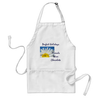 Perfect Holiday apron Friends Wine Chocolate gifts