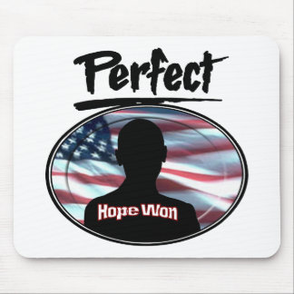 Perfect Hope Won Mouse Pad