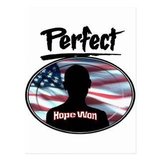 Perfect Hope Won Postcard