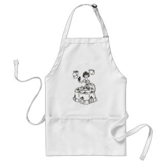 Perfect hostess adult apron