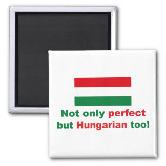 Perfect Hungarian 2 Inch Square Magnet