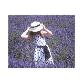 Perfect In Lavender Canvas Print