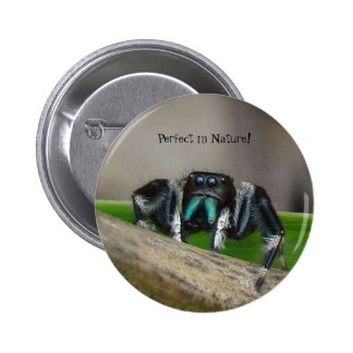 Perfect in Nature Button