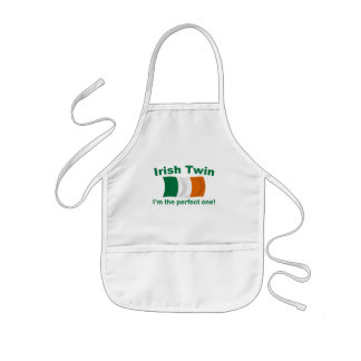 Perfect Irish Twin Kids' Apron