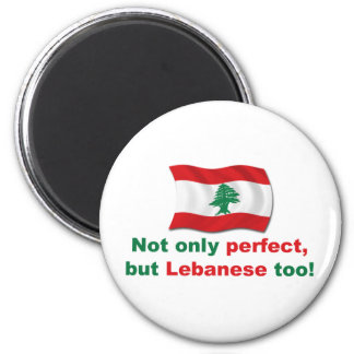 Perfect Lebanese 2 Inch Round Magnet