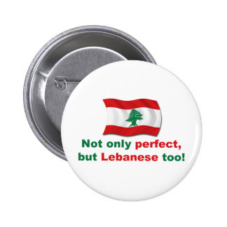 Perfect Lebanese Button